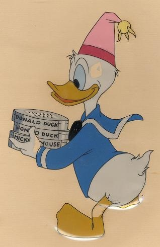 #DG11 - At Home With Donald Duck, 'Donald Duck', (1956). (Original Matte & Art Corner Gold Seal)