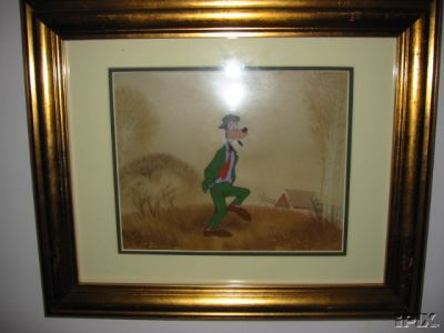 #DA31 - 'Goofy', (c.1950's). (Framed W/Art Corner Gold Seal)