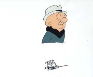 #U7 - 'What's New, Mister Magoo,' Hand Signed by Friz Freleng (1977).