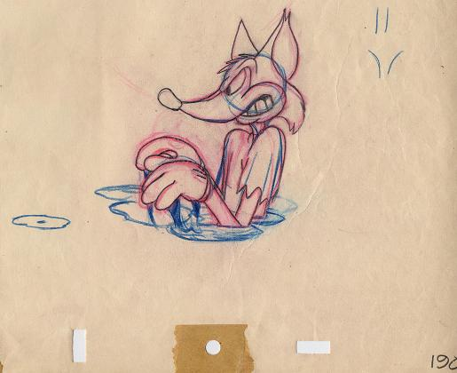 #CS8 - ' Fox And The Crow', Fox' KUKU NUTS' (1945)